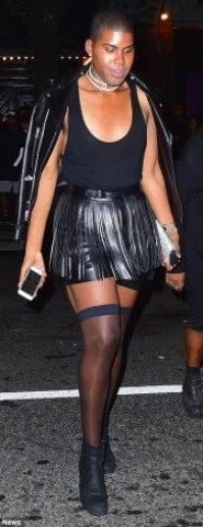 Reality Star, EJ Johnson, Steps Out In Woman